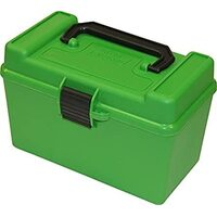 MTM Deluxe Rifle Ammo Box - RL - 50 Round